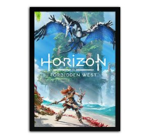 Poster com Moldura - Horizon Zero Dawn Forbidden West
