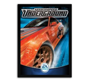 Poster com Moldura - Need For Speed Underground