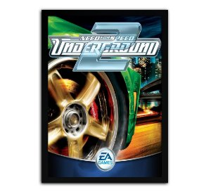 Poster com Moldura - Need For Speed Underground 2