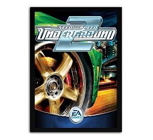 Poster com Moldura - Need For Speed Underground 2