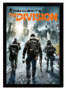 Pôster com Moldura Gamer - Tom Clancy's The Division
