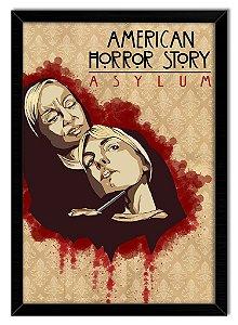 Poster Com Moldura Série - American Horror Story