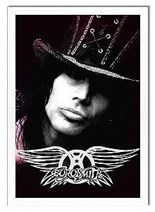 Poster Com Moldura - Steven Tyler ''Aerosmith''