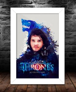Quadro - Game Of Thrones Winter Is Coming