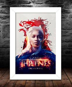 Quadro - Game Of Thrones Fire And Blood