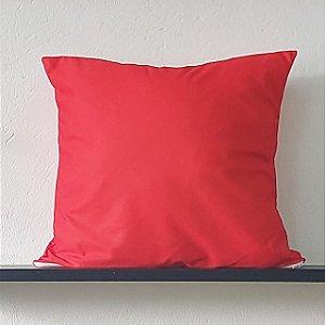 Almofada Lisa - Vermelha