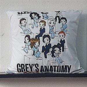 Almofada - Personagens Série Grey's Anatomy