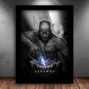Poster com Moldura - Ryze League Of Legends