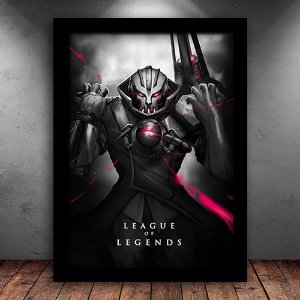 Poster com Moldura - Viktor League Of Legends