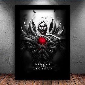 Poster com Moldura - Vladimir League Of Legends