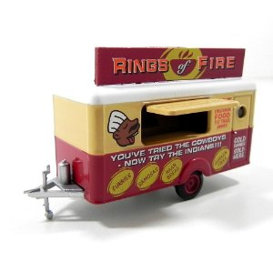 TRAILER RINGS OF FIRE ANHAENGER VERKAUF CHANGER 1/76 OXFORD 76TR008
