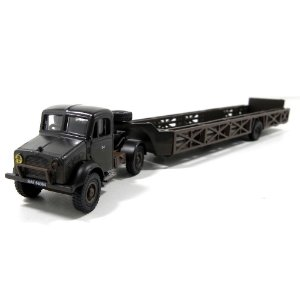 CAMINHÃO BEDFORD OX QUEEN MARY TRAILER RAF 108 REPAIR SALVAGE UN 1/76 OXFORD 76BD011