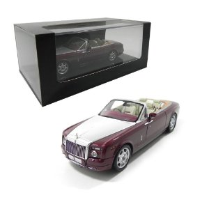 2007 ROLLS-ROYCE PHANTOM DROPHEAD COUPÉ 1/43 MINICHAMPS 436134731