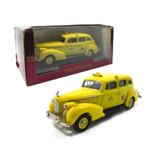 1940 PACKARD SUPER 8 TAXI FORMAL SEDAN SERVICES 1/45 REXTOYS REX66676869