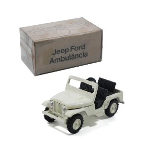 JEEP FORD WILLYS AMBULÂNCIA 1/43 MINIBRINDES