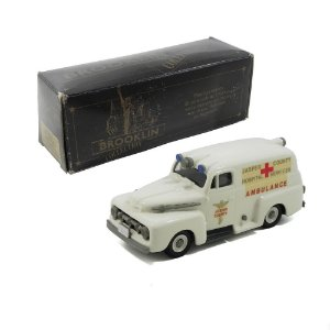 1952 FORD F1 AMBULÂNCIA 1/43 BROOKLIN BRK42