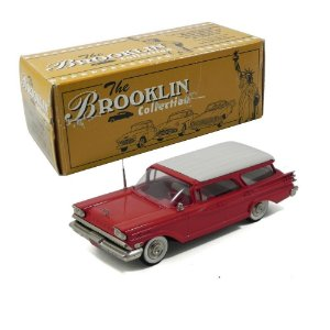 1959 FORD MERCURY COMMUTER OPEN BOX 1/43 BROOKLIN BRK77