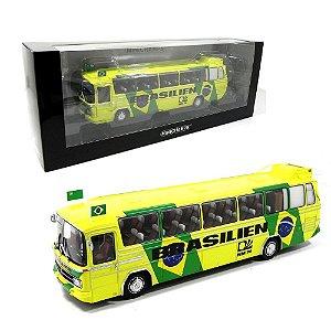 Ônibus Mercedes-Benz O302 Seleção Brasileira Copa Do Mundo 1974 1/43 Minichamps Min439035186