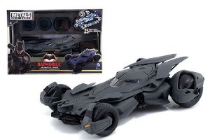 Kit Para Montar Batmovel Batman Vs Superman Batmobile 1/24 Jada Toys 97395