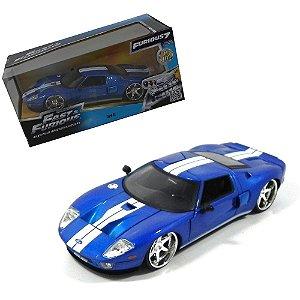2005 FORD GT VELOZES E FURIOSOS 7 1/24 JADA TOYS 97177