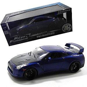 Nissan Skyline Gt-R R35 Brian Oconner Furious 7 Velozes E Furiosos 1/18 Jada Toys 97035