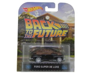 FORD SUPER DE LUXE DE VOLTA PARA O FUTURO 1/64 HOT WHEELS HOTBDV06-0718