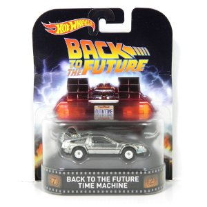 DELOREAN TIME MACHINE DE VOLTA PARA O FUTURO 1/64 HOT WHEELS HOTDJF49-D718