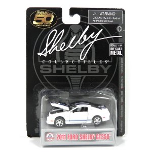 2011 FORD SHELBY GT350 1/64 SHELBY COLLECTIBLES SHELBYFSGT350