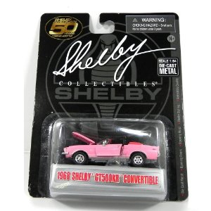 1968 SHELBY GT500KR CONVERTIBLE 1/64 SHELBY COLLECTIBLES SHELBYGT500KRC