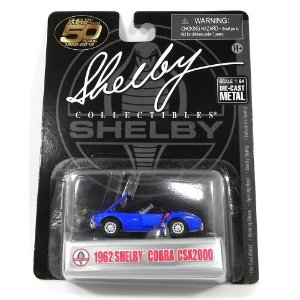1962 SHELBY COBRA CSX2000 1/64 SHELBY COLLECTIBLES SHELBYCCSX2000