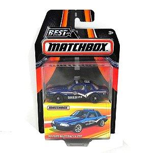 1993 FORD MUSTANG LX SSP POLICIA 1/64 BEST OF MATCHBOX MATCHDKC95-2B10