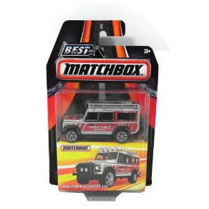 LAND ROVER DEFENDER 110 AMBULÂNCIA 1/64 BEST OF MATCHBOX MATCHDKC65-2B10