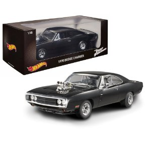 1970 DODGE CHARGER DOMINIC TORETTO VELOZES E FURIOSOS 1/18 HOT WHEELS HOTCMC97