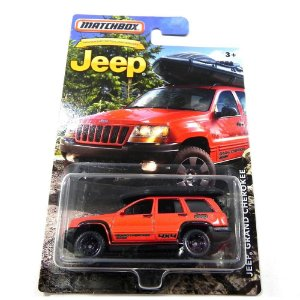 JEEP GRAND CHEROKEE 1/58 MATCHBOX MATCHDMN33-2B10