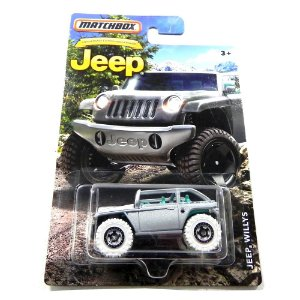 Jeep Willys 1/64 Matchbox Matchdmn27-2B10
