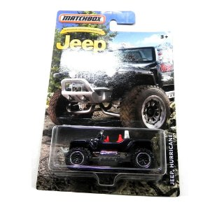 JEEP HURRICANE 1/64 MATCHBOX MATCHDMN29-2B10