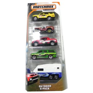 OUTDOOR 5-PACK 1/64 MATCHBOX MATCHY2628
