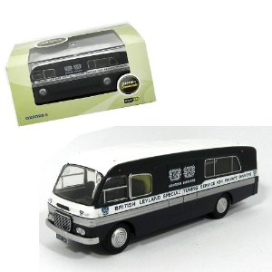 ÔNIBUS BMC MOBILE UNIT BL SPECIAL TUNIN 1/76 OXFORD OXF76BMC002