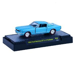 1965 Ford Mustang Gt 2+2 Fastback 1/64 M2 Machines Detroit-Muscle R32 M2M32600-32