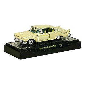 1957 Ford Fairlane 500 1/64 M2 Machines Auto-Thentics R33 M2M32500-33