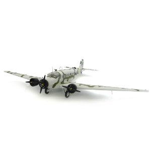 AVIÃO JUNKER JU52/3M NP-RJ 1/48 FRANKLIN MINT ARMOUR LUFTWAFFE NORWAY CAMPAIGN FMAJU52