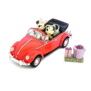 BEETLE CONVERTIBLE MICKEY MINNIE ERTL DISNEY