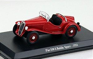 1933 FIAT 508 S BALILLA SPORT 1/43 HACHETTE