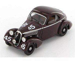 1936 Fiat 508 Balilla Berlinetta 1/43 1000 Miglia Hachette