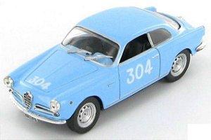 1955 ALFA ROMEO GIULIETTA SPRINT VELOCE 1/43 1000 MIGLIA HACHETTE