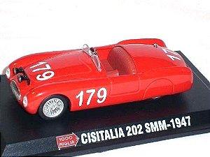 1947 CISITALIA 202 SMM 1/43 1000 MIGLIA HACHETTE