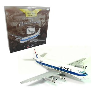 AVIÃO UNITED AIRLINES VICKERS VISCOUNT 700 1/144 CORGI CORAA30502