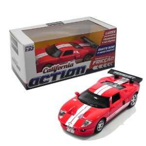 FORD GT COM FRICÇÃO 1/32 CALIFORNIA ACTION 68323