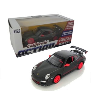 PORSCHE 911 GT3 RS COM FRICÇÃO 1/32 CALIFORNIA ACTION 68323