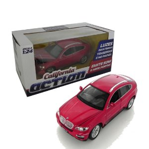 BMW X6 1/24 CALIFORNIA ACTION 68250A